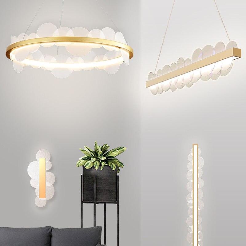 مصباح سقف دائري فاخر ، تصميم ما بعد الحداثة ، تصميم إسكندنافي إبداعي ، مثالي لغرفة المعيشة أو غرفة الدراسة أو غرفة النوم.