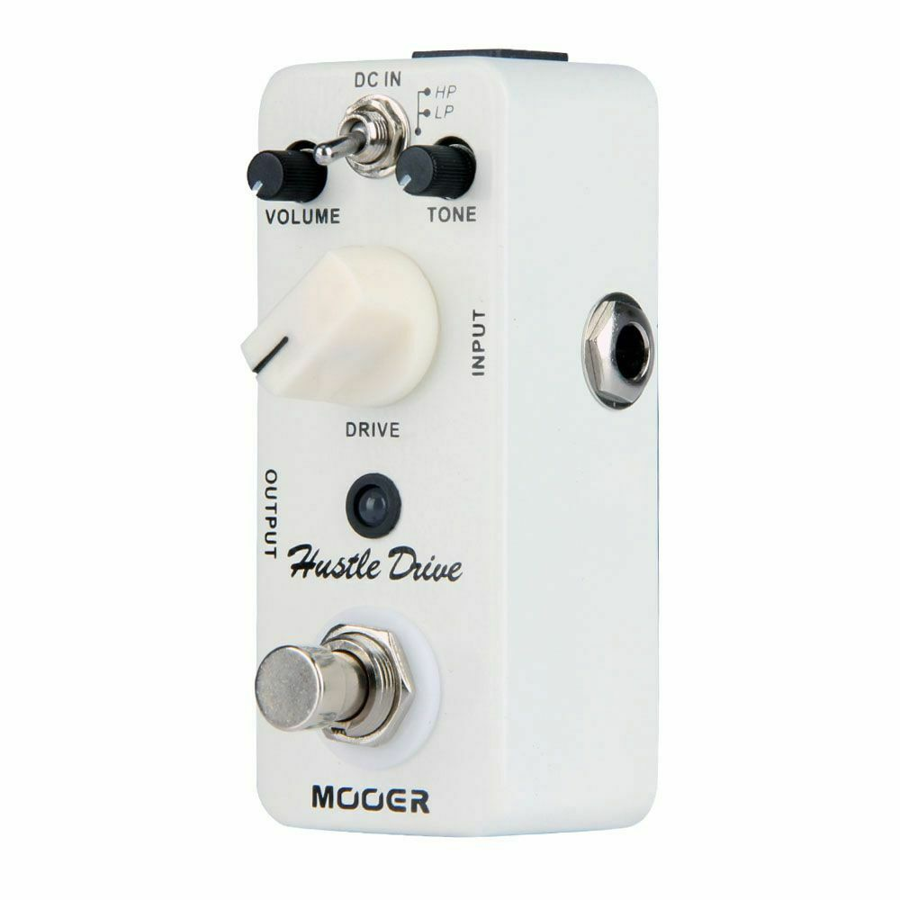 Mooer Mds2 Hustle Drive Distortion Effect Pedal for Guitar Effect Pedal Distortion Electric Guitar Parts and Accessories enlarge