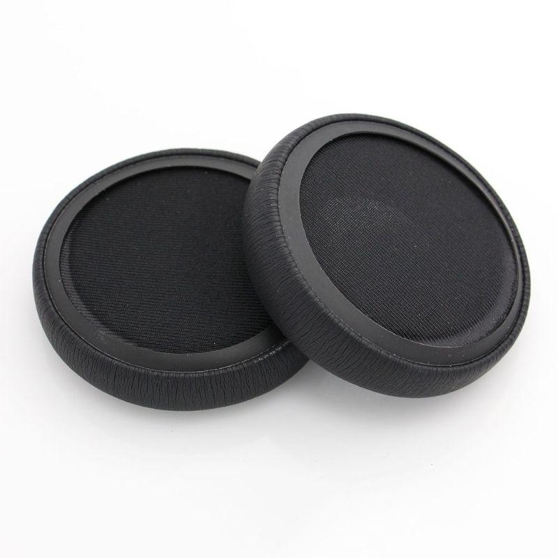 1 par de couro earpad substituição almofadas de orelha almofadas para monstro dna on-ear fones de ouvido dna fone de ouvido 634a