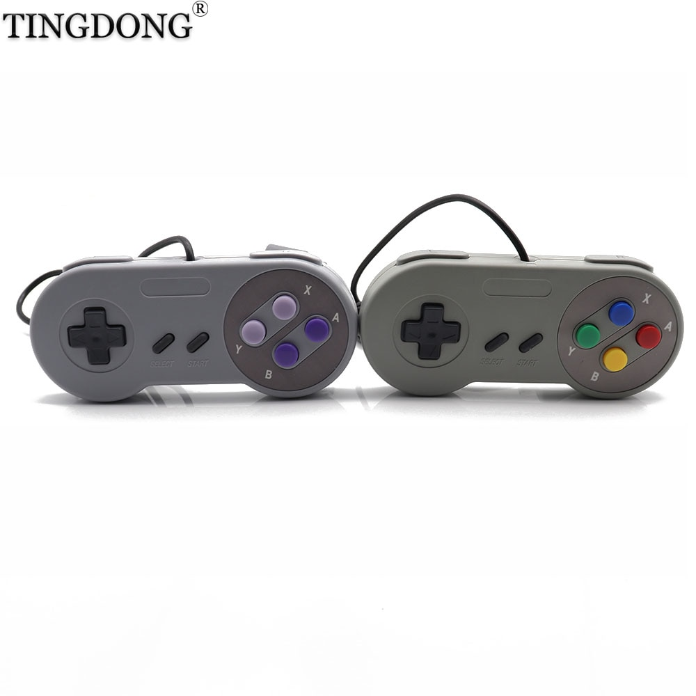 2pcs Wired Game Controller Gamepad For Nintendo for sfc for snes game console controller