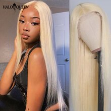 613 Lace Front Wig 13X4 613 Lace Frontal Wig Human Hair Brazilian Honey Blonde Straight Human Hair W