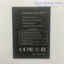 Original Battery for DOOGEE B-DG510 Smartphone 2500mAh Lithium-ion Battery for DOOGEE B-DG510 DG510