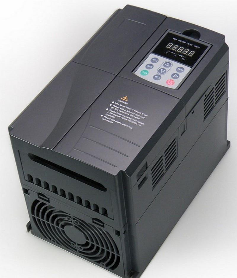 Купить с кэшбэком 6KW 8HP 220V Square Spindle Motor Air Cooled 4pcs Bearings+7.5kw VFD inverter + ER32 Collet kit for CNC Engraving machine Router