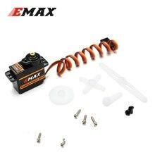 10 pièces EMAX ES08MA II 12g Mini Servo analogique de vitesse en métal pour pour la pièce de rechange de moteur RC antichoc et Stable servomoteur RC