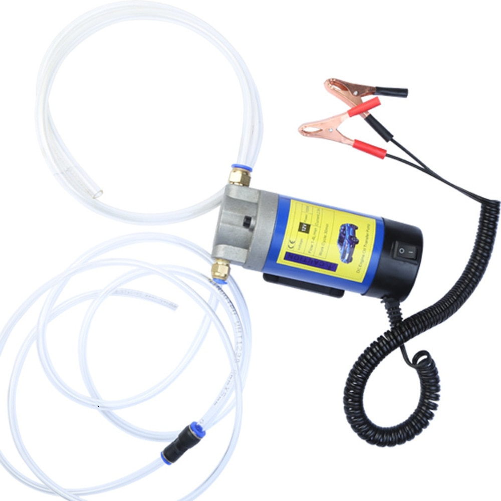 مضخة شفط كهربائية للسيارة ، 12 فولت ، 100 واط ، 4 لتر ، زيت المحرك ، الديزل