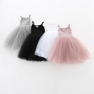 Kids Party Dresses For Girls  Summer Sleeveless Children Casual Wear Girls Dresses Birthday Baby Girls Clothes Vestido 3-8 Years