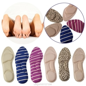 Ladies Feet Care Massage High Heels Sponge 3D Shoe Insoles Pads Cutting DIY N02 20 Dropshipping