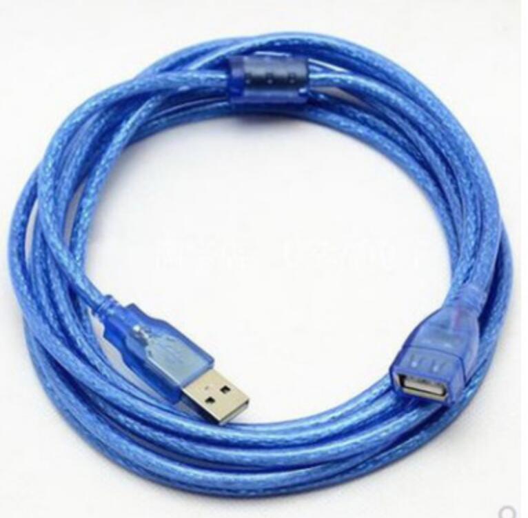 Cable USB de cobre lleno, cable de extensión de datos de 3...