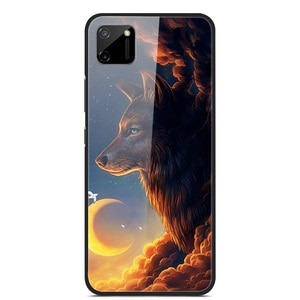 Glass Case For Realme C11 Phone Case Phone Cover Phone Shell Back Bumper Series 3
