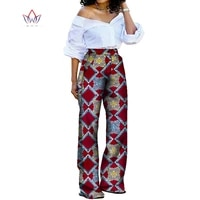 ladies office clothes dashiki print ankle length trousers female high waist pants african women clothing women big size wy8429