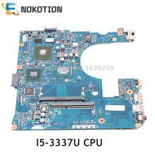 Nokotion acer aspire E1-470G E1-470 노트북 마더 보드 I5-3337 cpu 820 m gpu EA40-CX mb 12280-3 48.4lc03.031 nbmjy11003