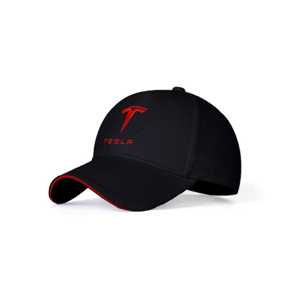For Tesla Model 3 X S Y Logo Hat Baseball Cap Outdoor Sports Sunhat Men Women Gasquette Gorra Hombre Car Styling Accessories New