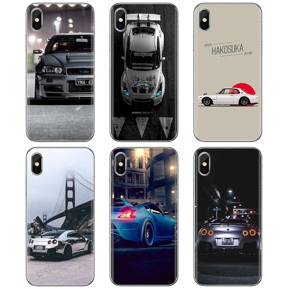 For Samsung Galaxy A10 A40 A50 A70 A3 A5 A7 A9 A8 A6 Plus 2018 2015 2016 2017 sports car JDM Car GTR
