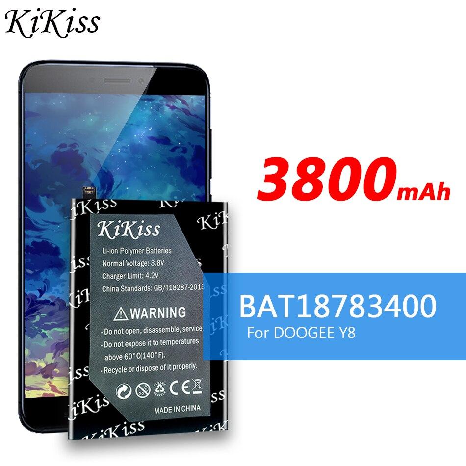 bateria do telefone movel para doogee y8 bateria 3800mah longo tempo de espera ferramentas