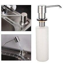 Salle De Bains Matériel blanc liquide distributeur De savon Lotion couverture intégrée cuisine plan De travail De lavabo distributeur De savon automatique