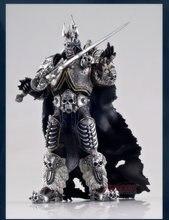 17 см World Of Warcraft The Lich King Arthas Menethil фигурка героя игры статуя метель фигурка Коллекционная модель игрушки