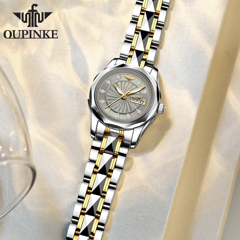 New style watches waterproof automatic mechanical watches ladies watches women