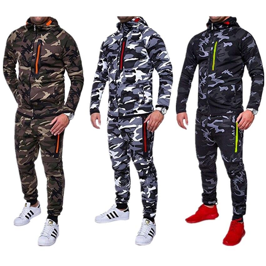 Nueva Comat militar imprimir ropa de trabajo al aire libre para hombres US ejército Airsoft uniforme táctico cremallera con capucha suéter pantalones trajes