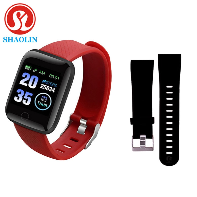 Smart Bracelet Watch Color Screen Heart Rate Blood Pressure Monitoring Track Movement Smart Band for