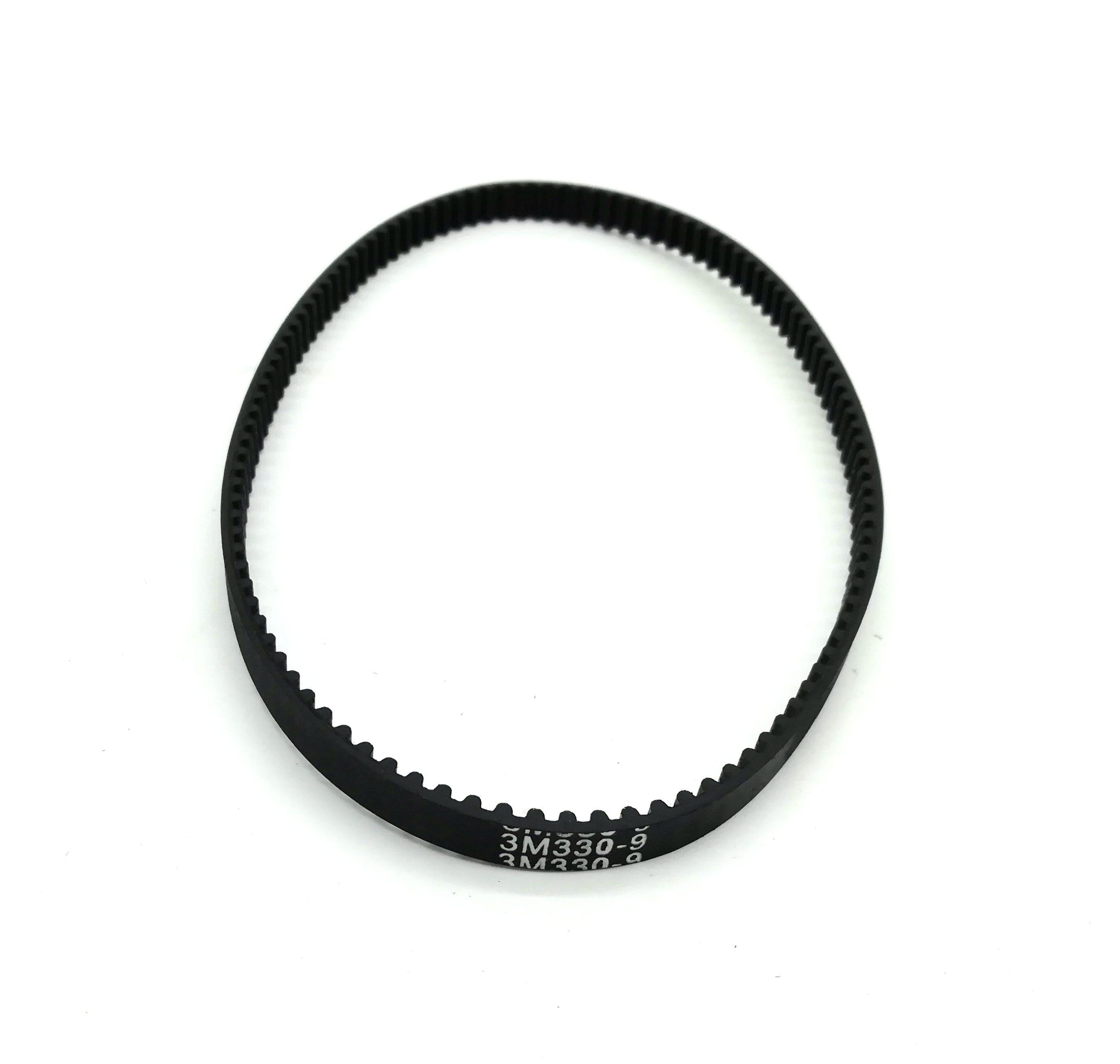 5pcs timing belt 384 12 3m 12mm width 384mm length HTD 3M, Timing Belt, Closed-loop, 330mm length, 110 teeth, 6mm width