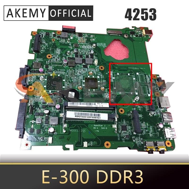 MBRDT06001 placa base de Computadora Portátil para ACER Aspire 4253 E-300 placa...