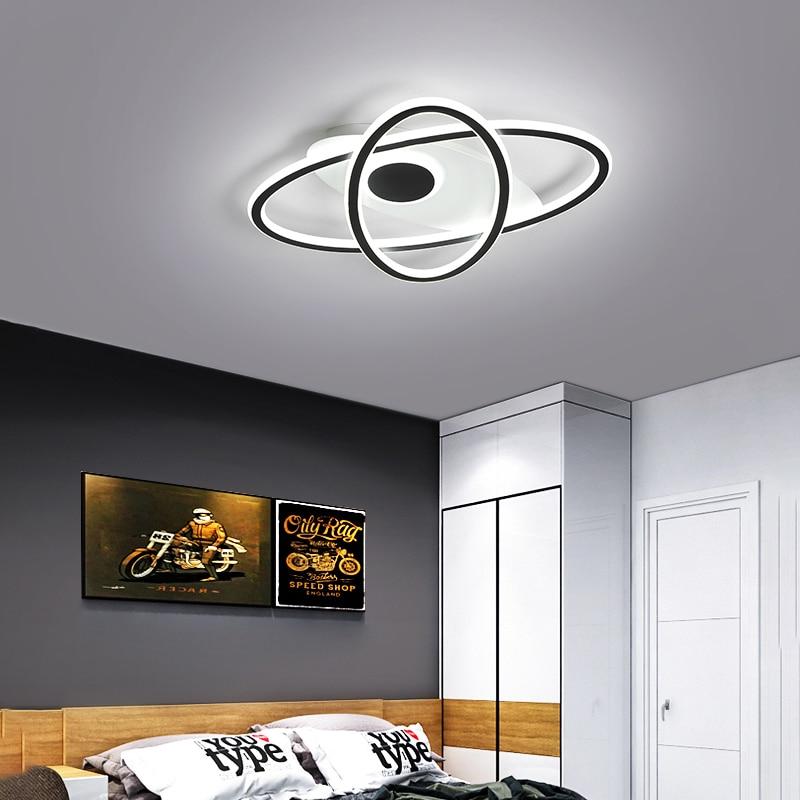 Скандинавские простые светодиодный потолочные люстры для гостиной, прихожей, фойе, кухни, студии, комнатное домашнее освещение, строительн...