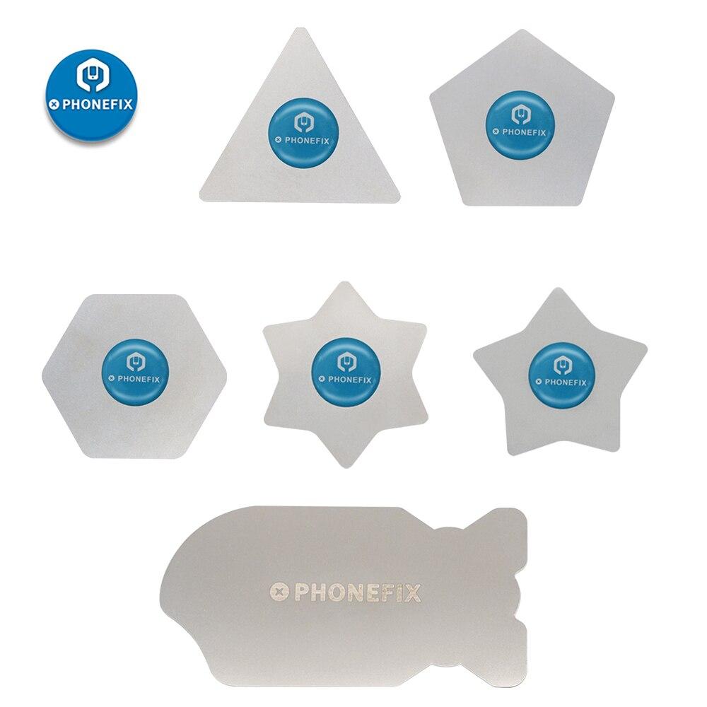 PHONEFIX Ultra delgado acero inoxidable Metal APERTURA DE TELÉFONO MÓVIL herramienta de palanca delgada para iPhone Samsung Tablet pantalla herramientas de reparación