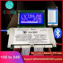 Smart Mier Bms 300A 200A 100A 70A Lithium Batterij Bescherming Boord Balans Bluetooth Li-Ion Lipo Lifepo4 Lto 10S Tot 24S 72V 20S