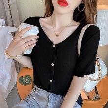 Modal Long-Sleeved T-shirt Female New Spring Short-Sleeved T-shirt High Waist Slim Tshirt Harajuku S
