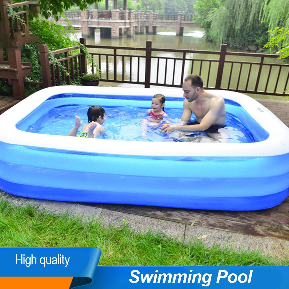 Thickened Inflatable Pool High Quality Children\'s And Adult Home Use Paddling Pool Large Size Inflatable Round Swimming Pool