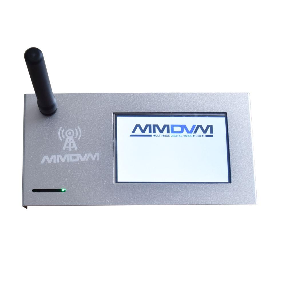 Hotspot + Raspberry Case de Alumínio Novo Montado Mmdvm Zero w 3.2 Polegada Display Lcd P25 Dmr Ysf 2021 pi