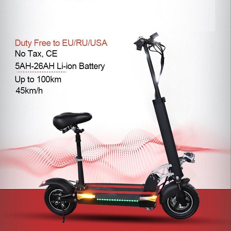 Patinete eléctrico para Adulto, Scooter de larga distancia de 100km, de 48V...