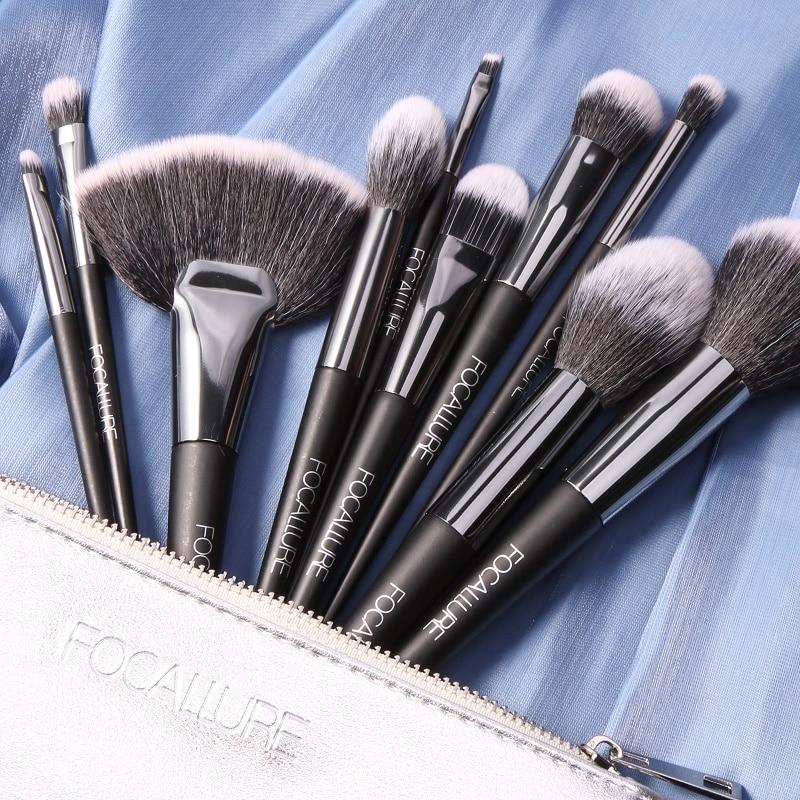 FOCALLURE Professional Makeup Brushes Set Tools High Quality Foundation Powder Eyeshadow Applicator Brush