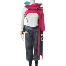 LOL vrai dommage bande peau Senna tenue Cosplay déguisement Halloween uniforme ensembles complets A