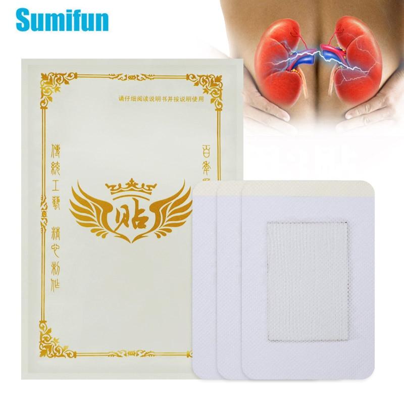 Sumifun chino parche para fortalecer los riñones yeso prostático Prostatitis tratamiento prostático hierbas Navel PatchesC1900
