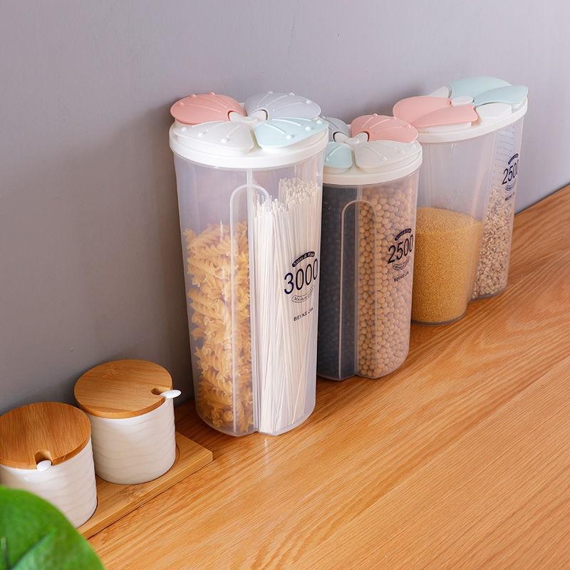 Kuhinjski spremnik za zatvorene dijelove kutija za spremanje prozirne - Organizacija i skladištenje u kući - Foto 4