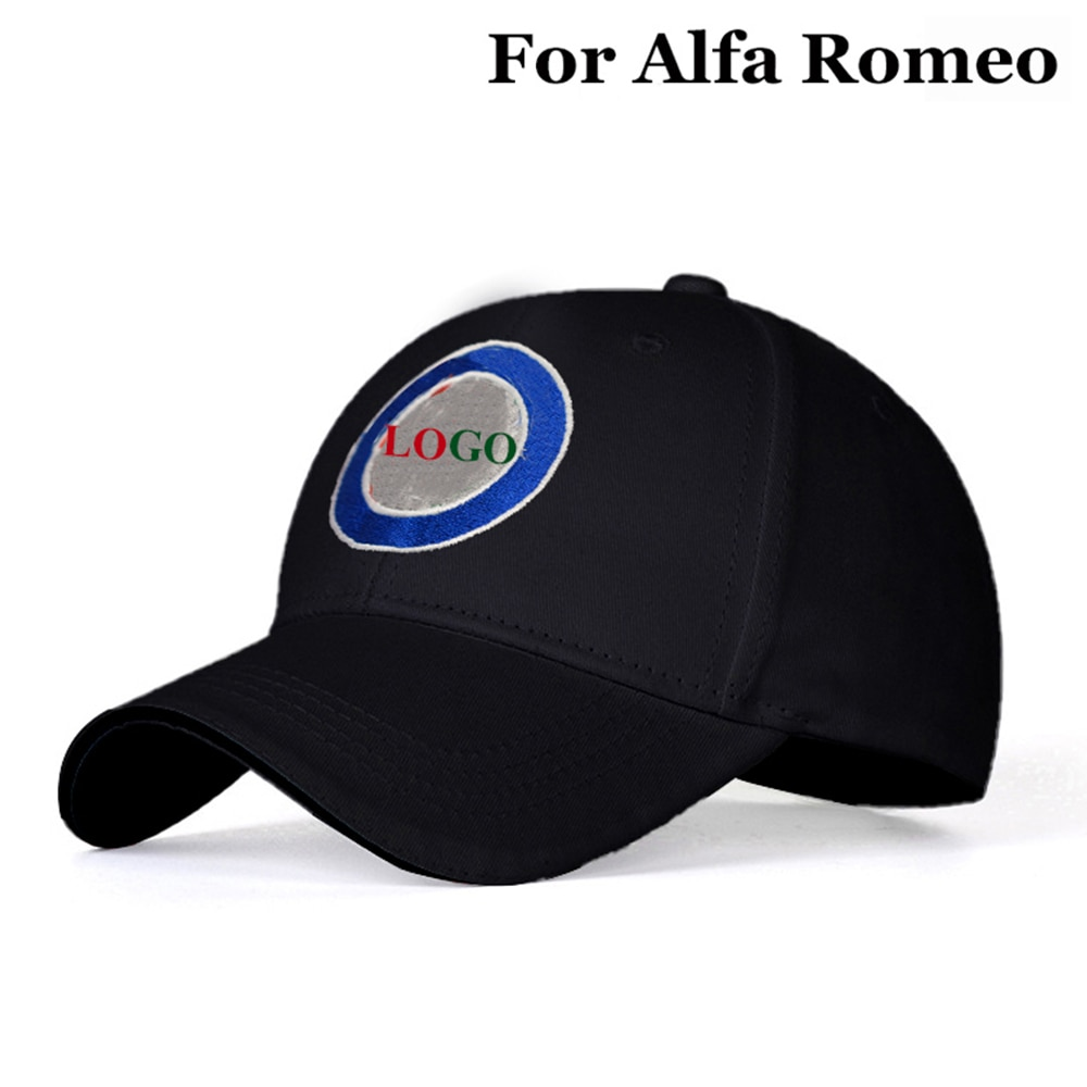 Car Logo Outdoor Baseball Cap Men Women Breathable Hat Fashion Adjustable Sports Hat Sunhat Sun protection For Alfa Romeo New