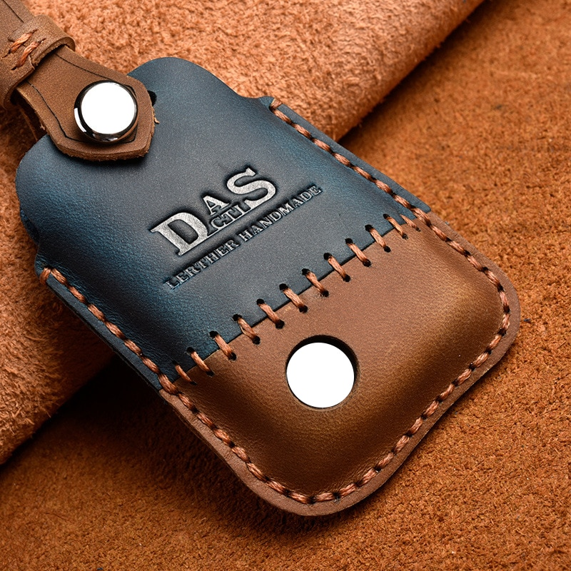 New Leather Key Cover Remote Case Shell for VW PASSAT 2015 - 2020 B8 Skoda Kodiaq Superb A7 Car Key Case Protector Key Holder