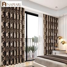 Traitements de fenêtre de style rustique rideaux 3d avec rideaux en tulle rideau de porte de cuisine décoration de la maison stores de fenêtre