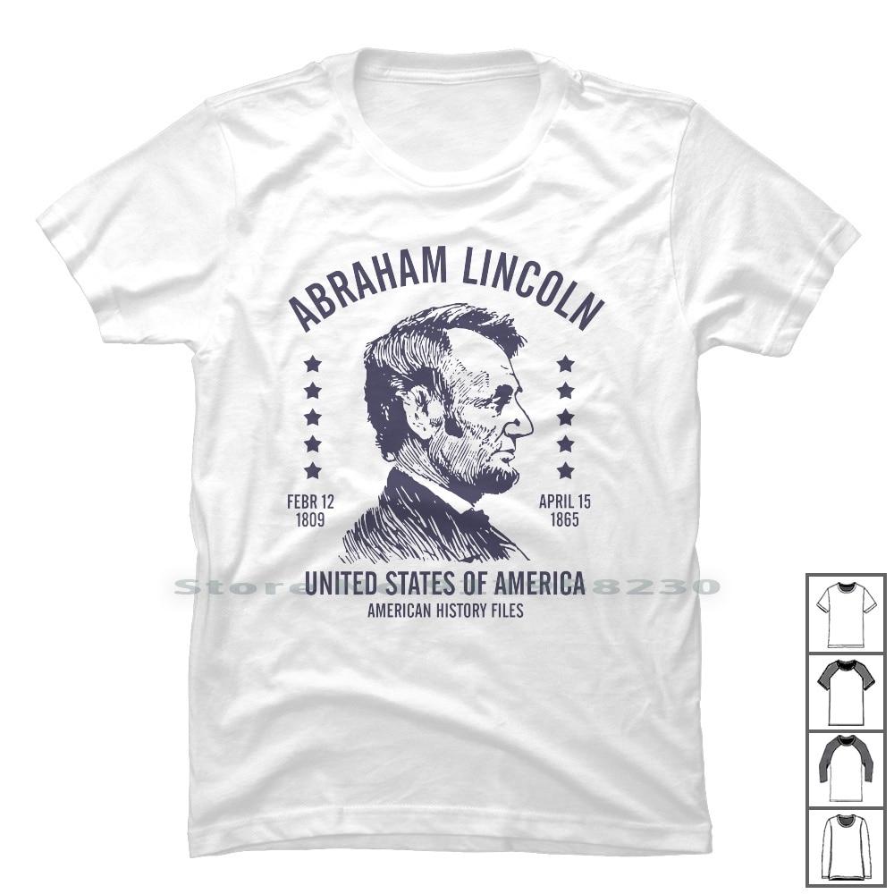 Abraham Lincoln, Estados Unidos de América T camisa 100% de Estados Unidos...