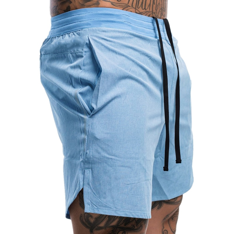 2021 New Men's Fitness Shorts Men's Summer Hot-selling Gym Breathable Quick-drying Sportswear Jogging Beach Shorts