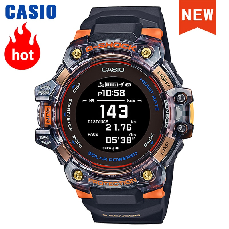 Casio watch men G shock top brand luxury five times sensor GPS sports bluetooth solar heart rate detection militar men watch GBD