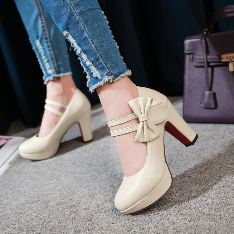 Japanese sweet lolita shoes college student straps high heel fashion kawaii girl cosplay shoes comfortable women shoes loli cos