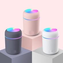 LED Air Humidifier Ultrasonic Mini Humidifler Diffuser Air Humidifier Aromatherapy Aroma Diffuser Fr