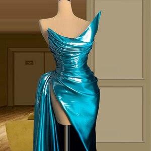 Blue платья на выпускной 2021 elegant dress women for wedding party vestidos de promoción vestidos de graduación