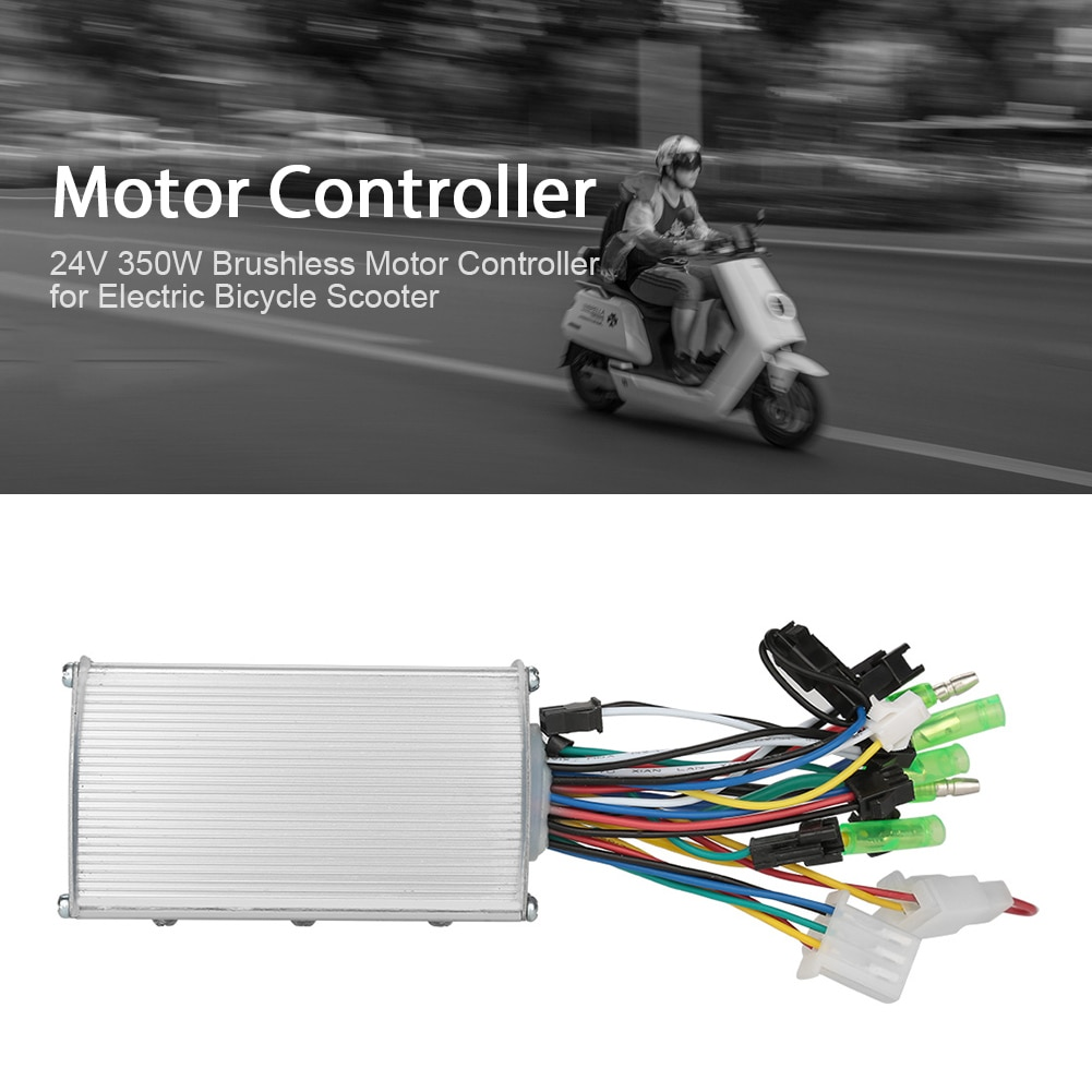 Envío Gratis Bicicleta Electrica controlador 24V 350W 13A CAMBIO DE buje sin...