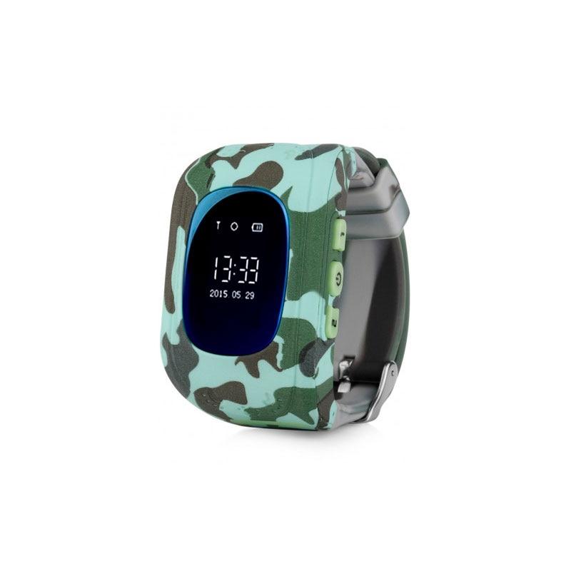 Kids smart watch with GPS carcam Q50 (urban camouflage)