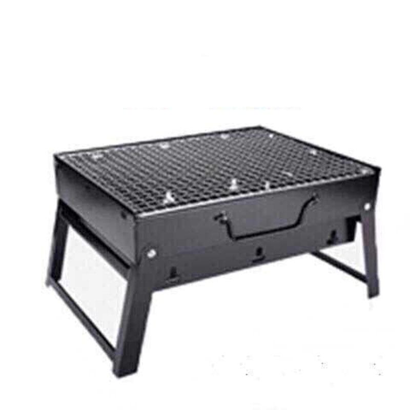 Барбекю гриль 35*27*20 см барбекю для пикника угольные Грили и серебристого цвета