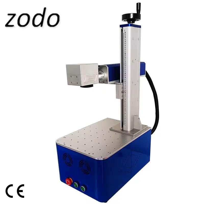 Mini máquina de grabado láser de joyería de 20W para gafas de sol metálicas, máquina de marcado láser de pequeño tamaño, fabricante de Marcadores láser Raycus