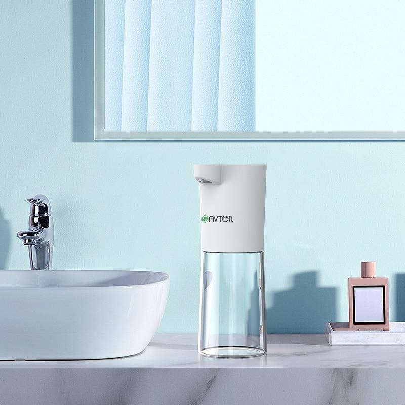 SAVTON Intelligent Automatic Liquid Soap Dispenser Induction Children Hand Washing Machine For Kitchen Bathroom Smart Dispenser